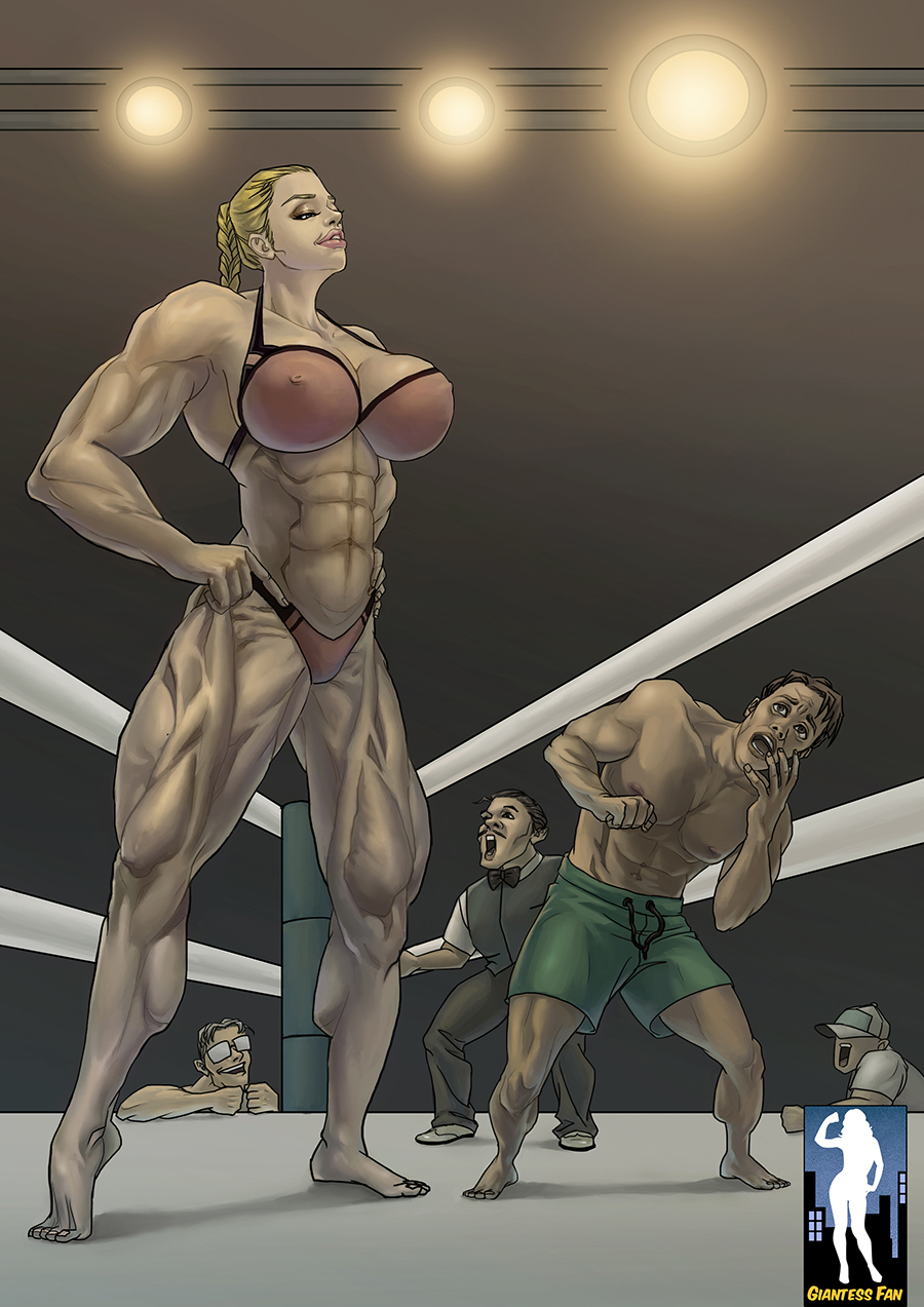 Amazon muscle women in 3d nsfw chick