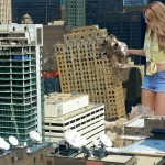166313 - between_buildings blonde buildings city collage destruction giantess rooftops rooftop_view skyscrapers sunglasses wonderslug