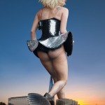 174477 - blonde buildings butt collage docop fishnets lady_gaga mega_giantess sky sunset tattooed waterfront