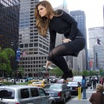 177434 - brunette buildings cars city collage giantess handheld maria_menounos street traffic wonderslug