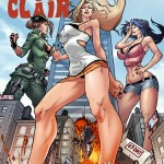 179939 - bobby_and_clair_2 cover_page destruction giantess giantess_fan_comics skyscraper triple_giantess_rampage