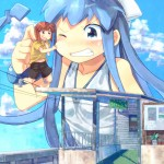 178816 - anime ika_musume manga manga-style mini-gts squid_girl teasing