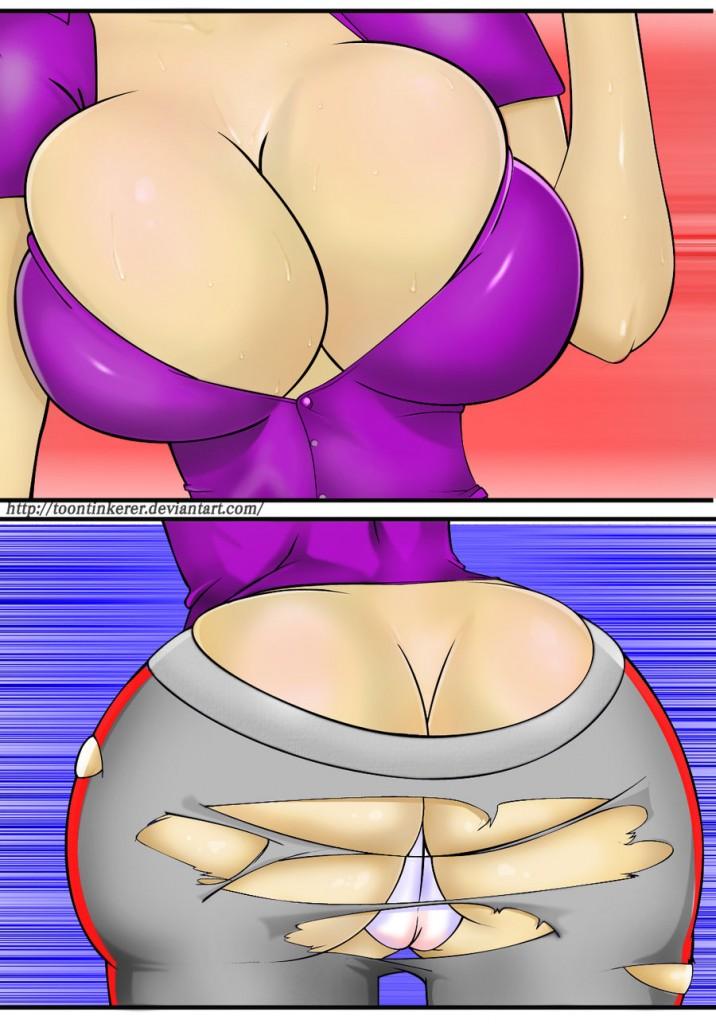 Pregnancy Boobs