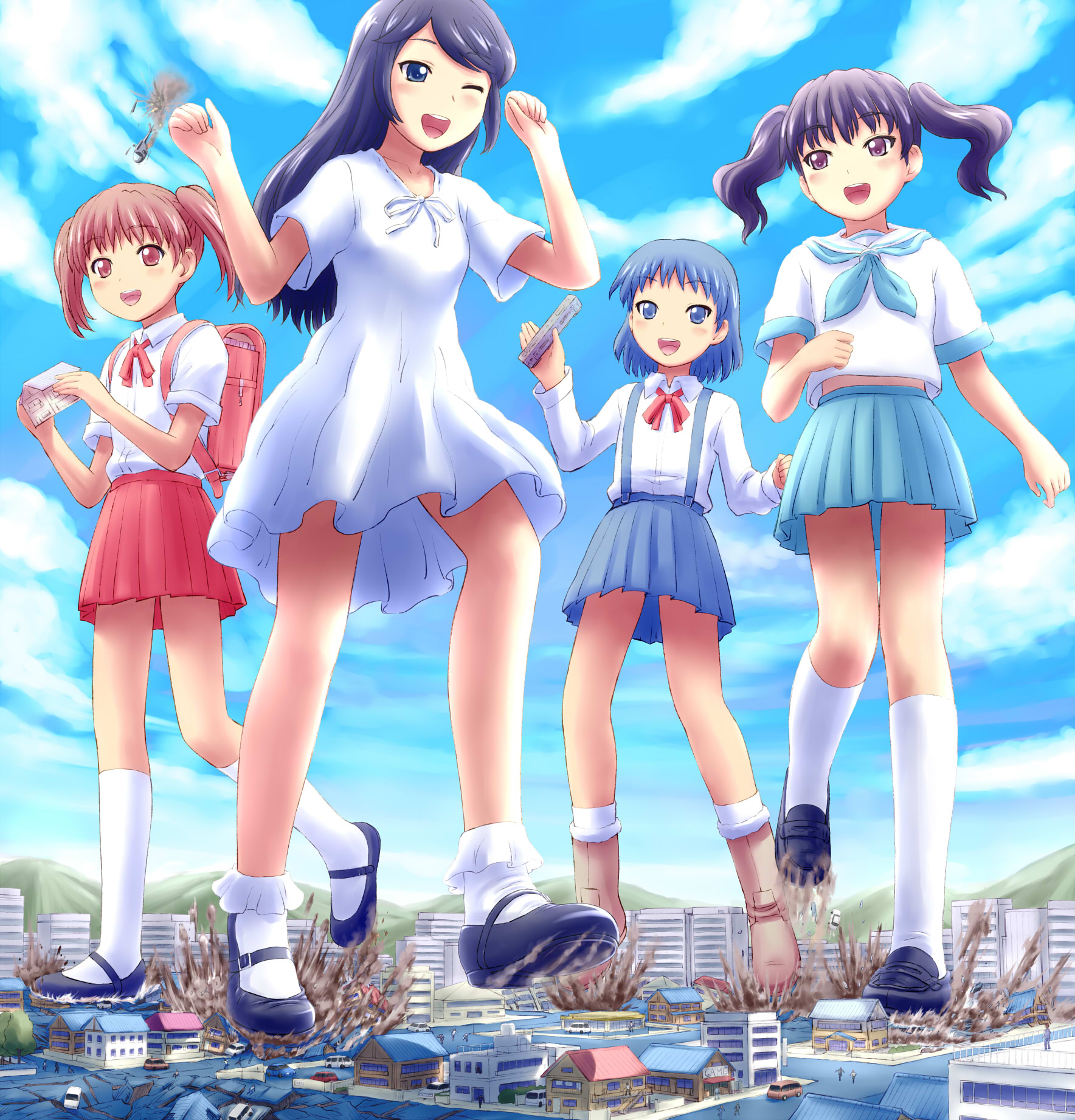 Anime Schoolgirl Upskirt anime giantess schoolgirl upskirt | joss picture cam