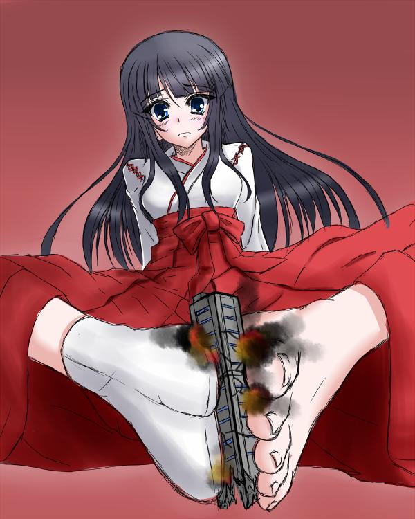 160670 - anime building crush destruction drawing feet giantess socks