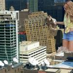 166313 - between_buildings blonde buildings city collage destruction giantess rooftops rooftop_view skyscrapers sunglasses wonderslug