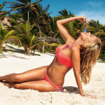 168625 - beach blonde collage giantess lowerrider mega_giantess over_mouth red_bikini red_swimsuit small_men summer swimsuit tanned vore